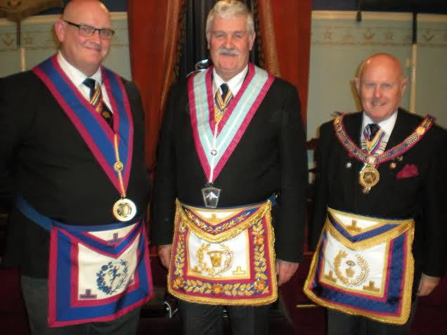 Gloucestershire & Herefordshire fraternal visit to Loyal Monmouth Lodge
